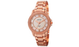 August Steiner Women's Diamond Bracelet Watch ASGP8154