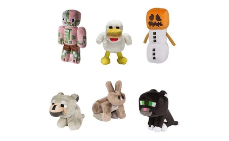 My World Toy Cartoon Animals Plush Stuffed Doll Lovely Birthday Gift 65a5a28a-4f8b-4b91-a49d-b82f9e6102a6