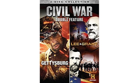 Civil War: Gettysburg/ Lee & Grant - Double Feature (DVD) e429188d-8450-4680-ab91-dc3401e126d5