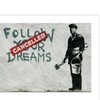 Banksy Canvas Rolled Art