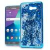 XL Samsung J7(2017) J727 Chrome Glitter Motion Case