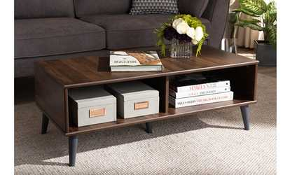 Groupon Pierre Wood Coffee Table