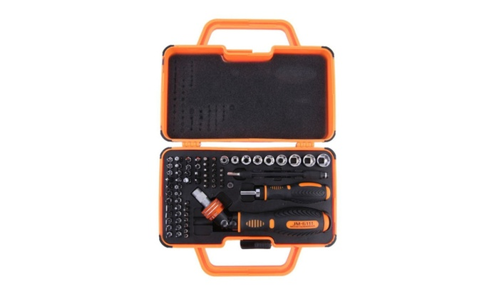 69 In 1 Household Double Ratchet Screwdriver Set Tools for Home Use