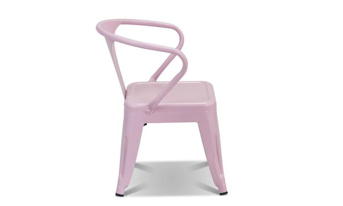 Sensational Up To 63 Off On Set Of 2 Kids Tolix Chair Ste Groupon Dailytribune Chair Design For Home Dailytribuneorg