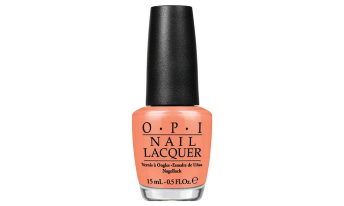 Opi Nail Lacquer Is Mai Tai Crooked 0 5oz 15ml
