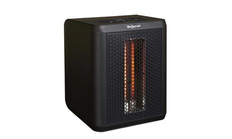 Lifesmart 3 Element Infrared Tabletop Portable Heater, 1200 Watt, Black 609a0a91-f688-4df6-9d72-24ebff57eb27