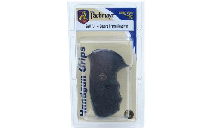 Pachmayr Gripper Grip S&W J Frame Square Butt 03250