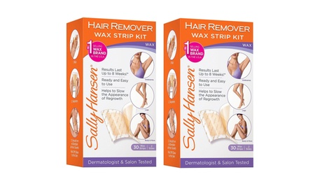 Sally Hansen Body Hair Remover Wax Strip Kit, 30 count 2 sizes (2 Pack) e91ad53b-1dac-403e-9a85-2909afb01879