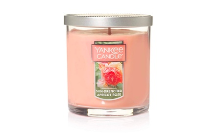 Yankee Candle Small Tumbler Candle, Sun-Drenched Apricot Rose