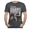 Men's Velvet Underground Band With Nico T-shirts DeepHeather
