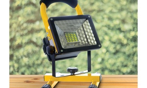 Water-Resistant Rechargeable LED Work Light