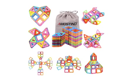 Magnetic Blocks Building Set for Kids, Magnetic Tiles Educational 047e142e-eb57-4135-88f3-8a0d4a837d91