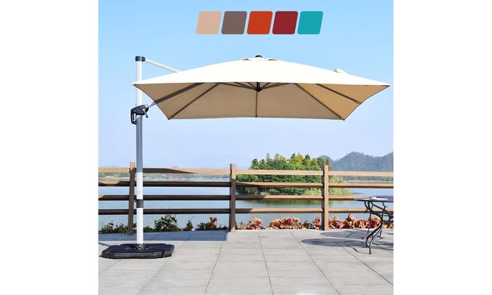 10ft Patio Offset Cantilever Umbrella