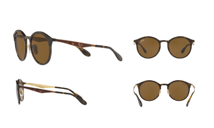 6c37fe28f Ray Ban Emma RB4277 628373 Tortoise Frame / Brown Classic B-15 Lenses |  Groupon