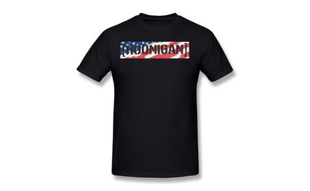 Hoonigan Stars Stripes C-bar Mens T-shirt Black For Men 35af17e0-32b2-4eac-9e7b-58fd0fb0e0cb