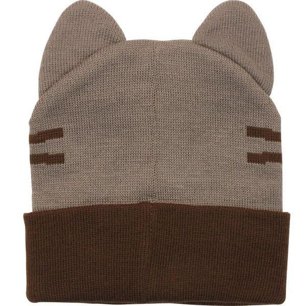 60680a58ef1 Pusheen the Cat Knit Beanies w  Ears