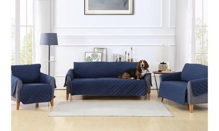 Reversible Slipcover Furniture Protectors Chair Sofa or Love Seat