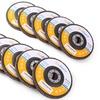 4.5in 40/60/80/120 Grit Aluminum Oxide Flap Discs 10 or 20PCS