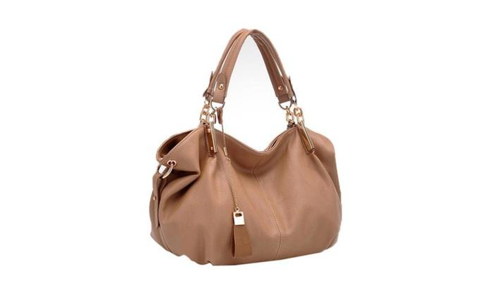 Women's Soft Waterproof Leather Bag