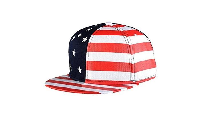 Canvas Snapback Printing Flag Hip Hop Cap