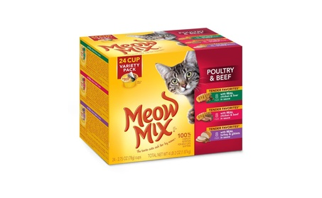 Meow Mix Tender Favorites Wet Cat Food Cups in Sauce d9cb19cf-e85d-4fe2-99ed-70c305a32ff9
