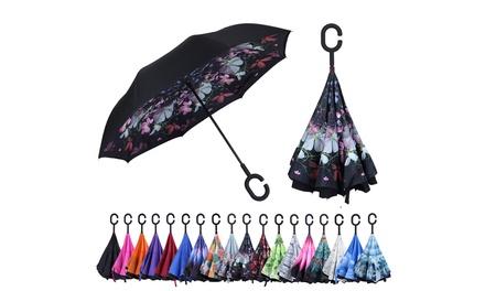 Mio Marino Reverse Folding Inverted Umbrella - UV Protection & Wind Resistant