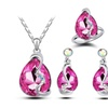 Silver/Gold Wheat shaped Jewelry Set for Women