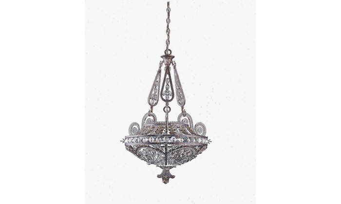 Parnell Collection 3-Light Bronze Pendant