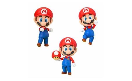 Super Mario: Mario Nendoroid Vinyl Figure 89d971ba-53f3-48a3-8344-17b7e995f683