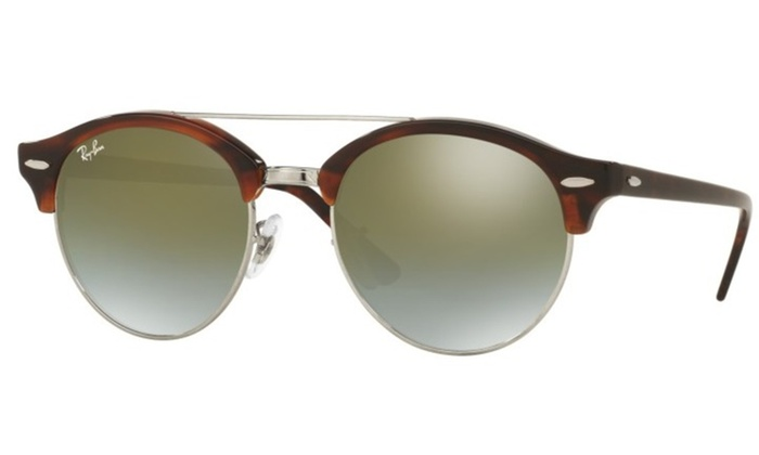 ab569a432aa Up To 16% Off on Ray-Ban Clubround Double Brid...