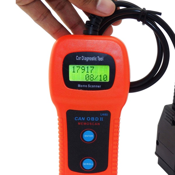 U480 Code Reader Car Engine Fault Code Scanner CAN OBDII OBD2 Diagnostic  Tool