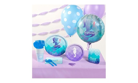 Mermaids Under the Sea Basic Party Supplies Pack a1e4bd6c-aec4-41d8-8611-90e0a4e2e57c