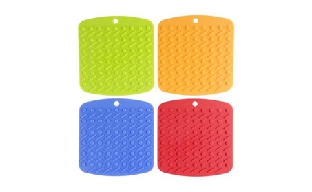 Silicone Pot Holders, Pack of 4 cfe41102-b5b0-4565-aa5e-fc3dbcc56370