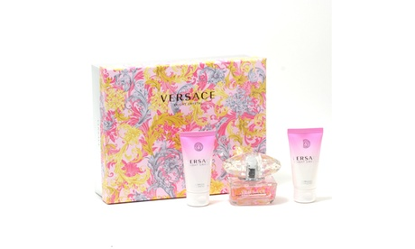 Versace Bright Crystal Ladies- 1.7 Sp/1.7 Sg/ 1.7 Bltn Set 65c62f44-da9d-4b3e-9a84-b7ec6709263c