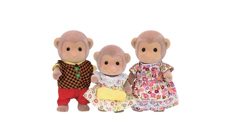 International Playthings - Calico Critters Mango Monkey Family 82d2680b-0c6e-4caf-b652-1ff479052d38