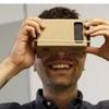 Unassembled DIY Google Cardboard Smartphone Virtual Reality 3D Glasses