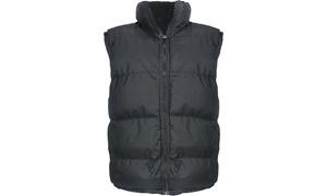 Lee Hanton Men's Sleeveless Fleece Lined Bubble Vest
