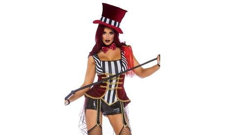 Leg Avenue Women's Circus Lion Tamer Ringmaster Halloween Costume
