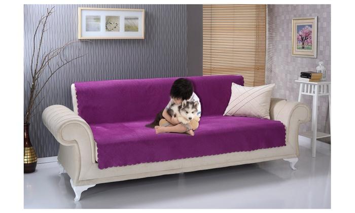 Chiara Rose Anti Slip Sofa Size Pet Cover Furniture Protector Groupon