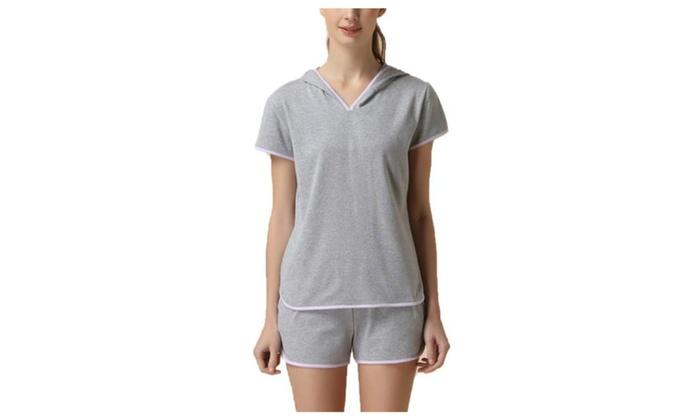 Women's Stylish Pullover Mid Rise Solid Underwear Set