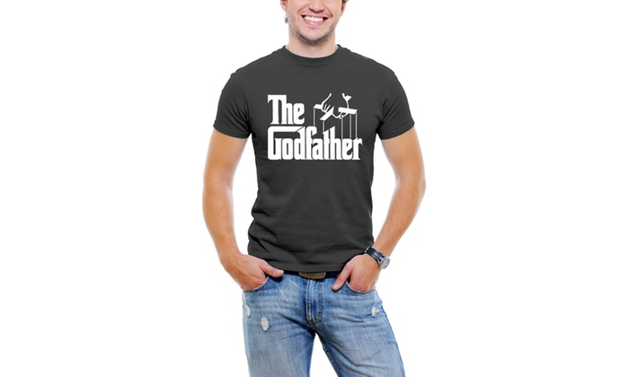 The Classic GodFather Men T-Shirt Soft Cotton Short Sleeve Tee