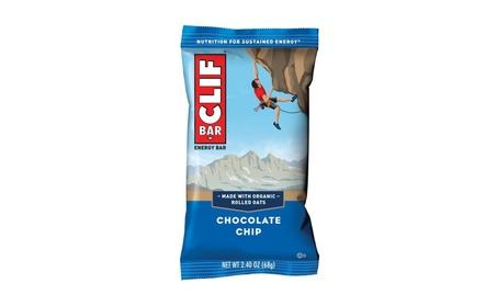 CLIF BAR - Energy Bar - Chocolate Chip - 2.4 Ounce Protein Bar, 12 Ct