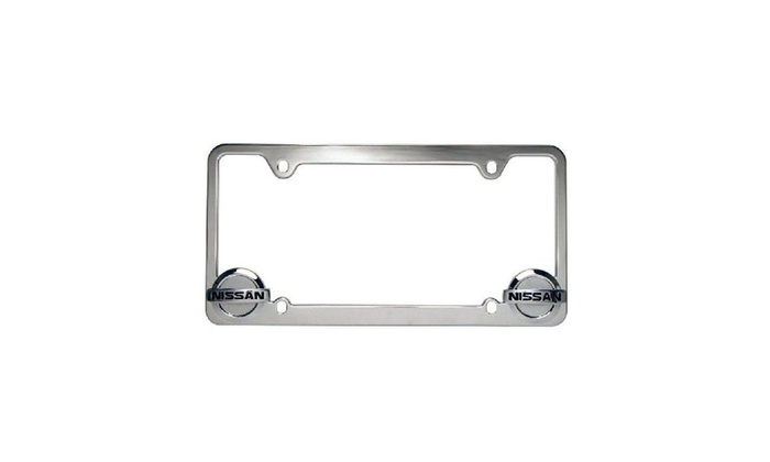 Up To 69% Off on Official Nissan License Plate... | Groupon Goods