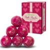 Bath Bombs Gift Set - 6 Essential Oil Handmade Spa Fizzies