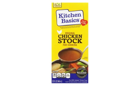 Kitchen Basics Original Chicken Stock, 32 Oz (Pack of 12) ea5a7245-b1f0-46d2-acd3-c307bdcff661