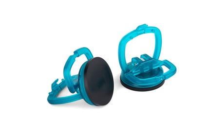 Capri Tools 2-1/8-in Suction Cup, 2-Piece Set, Teal e26f634c-91b1-44bf-baad-2b26e92ee08d