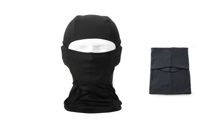 Great Black Ski Mask For Cold Or Hot Weather