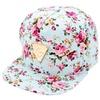 Floral Baseball Cap For Women