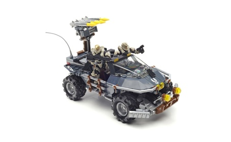 Mattel Mega Bloks® Halo Dual Mode UNSC Warthog DPJ92 13d710bc-f543-48a9-8b84-e783d2fb1917