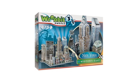 New York Collection - Midtown East 3D Puzzle: 875 Pcs 8c6ee753-f563-49b9-a8fe-82bcad7107d7